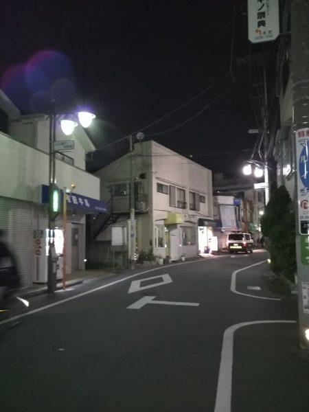 商店街の街灯💡